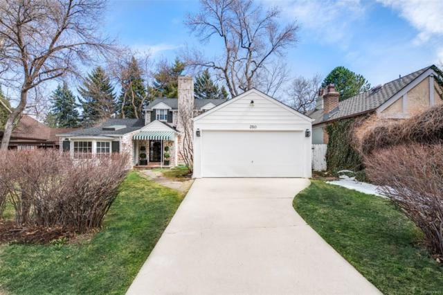 350 Cherry Street, Denver, CO 80220 (#5792830) :: The Peak Properties Group