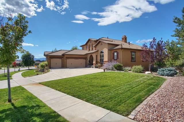 13466 Cedarville Way, Colorado Springs, CO 80921 (MLS #5792906) :: Kittle Real Estate