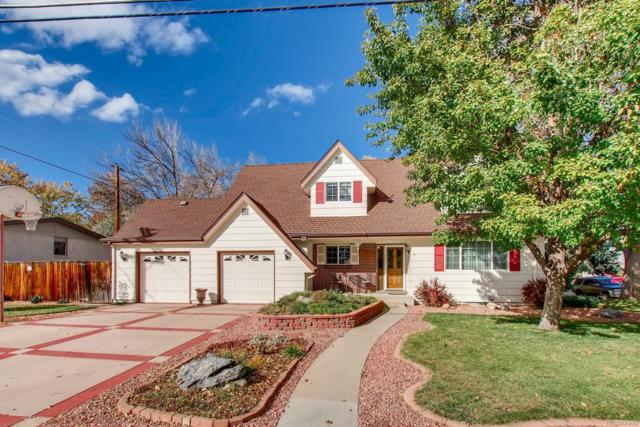 11941 W 60th Avenue, Arvada, CO 80004 (#5794804) :: The Dixon Group