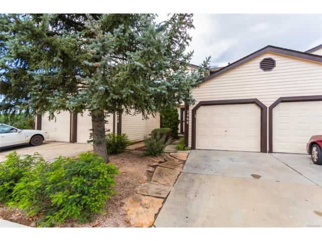 2468 Lexington Village Lane, Colorado Springs, CO 80916 (MLS #5797334) :: 8z Real Estate