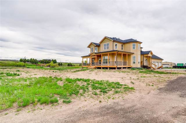 1510 N Castlewood Canyon Road, Franktown, CO 80116 (#5798990) :: The Heyl Group at Keller Williams