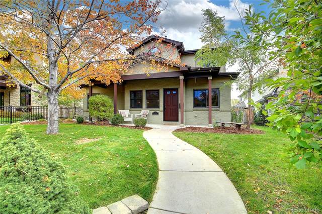 1272 S Milwaukee Street, Denver, CO 80210 (#5800456) :: Peak Properties Group