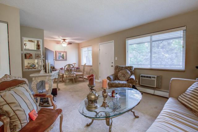 5995 E Iliff Avenue #307, Denver, CO 80222 (MLS #5800517) :: 8z Real Estate