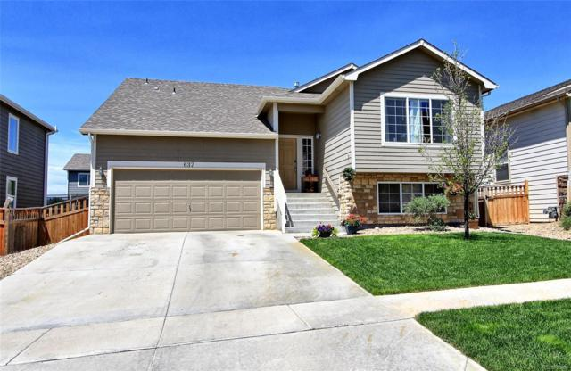 637 Draw Street, Lochbuie, CO 80603 (#5803542) :: The DeGrood Team