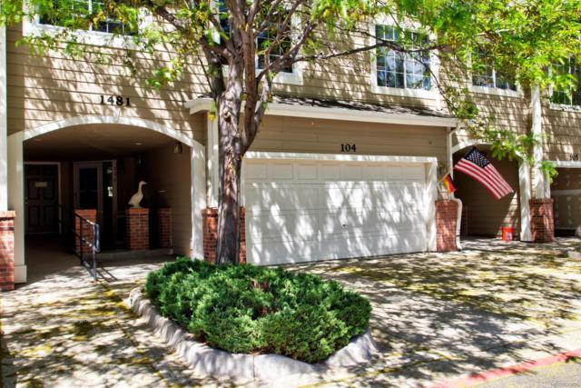 1481 S Danube Way #104, Aurora, CO 80017 (#5804282) :: The DeGrood Team