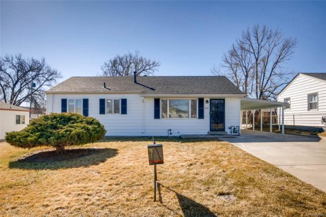 1550 W Stoll Place, Denver, CO 80221 (#5808397) :: The Pete Cook Home Group