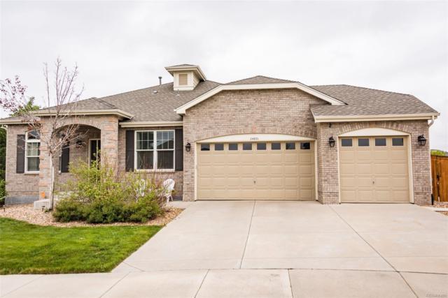 24821 E Belmont Place, Aurora, CO 80016 (#5808843) :: House Hunters Colorado