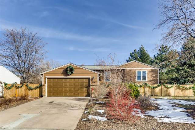 916 Park View Street, Castle Rock, CO 80104 (MLS #5809892) :: Bliss Realty Group