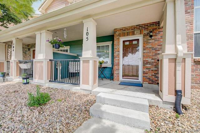 10425 Paris Street #105, Commerce City, CO 80640 (#5811247) :: My Home Team