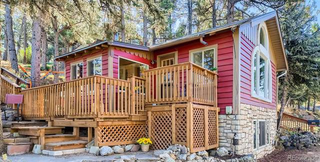 4679 S Blue Spruce Road, Evergreen, CO 80439 (#5816437) :: The DeGrood Team