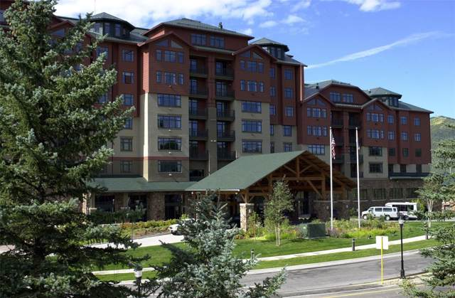 2300 Mt. Werner Circle 228/229 Cal 7, Steamboat Springs, CO 80487 (MLS #5824620) :: 8z Real Estate