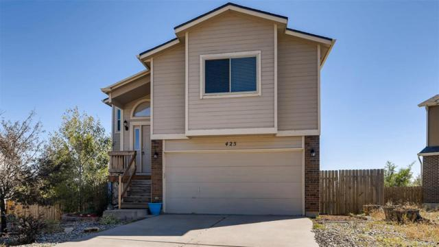 425 Blossom Field Road, Fountain, CO 80817 (#5825821) :: The DeGrood Team
