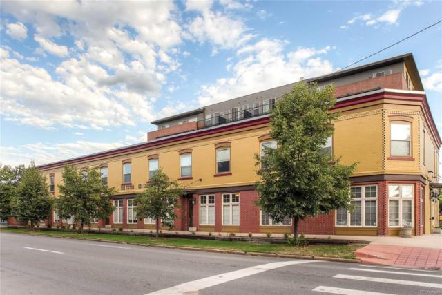 800 E 18th Avenue #203, Denver, CO 80218 (#5827680) :: Colorado Home Finder Realty