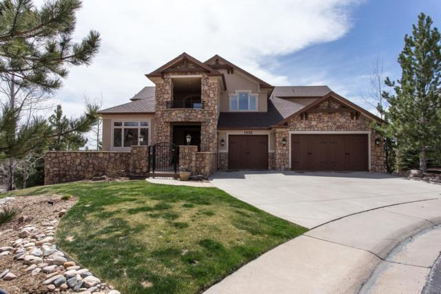 1038 Buffalo Ridge Way, Castle Pines, CO 80108 (#5828053) :: The Pete Cook Home Group