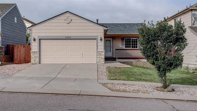 4964 Desert Varnish Drive, Colorado Springs, CO 80922 (MLS #5830729) :: 8z Real Estate