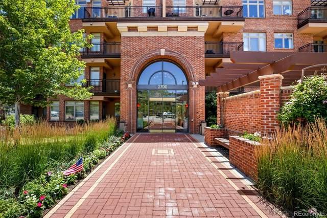 2700 E Cherry Creek South Drive #407, Denver, CO 80209 (MLS #5832819) :: 8z Real Estate