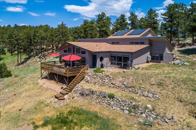 326 Peakview Road, Boulder, CO 80302 (#5833595) :: Finch & Gable Real Estate Co.