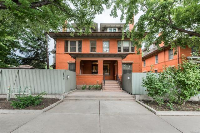 1401 N Franklin Street #3, Denver, CO 80218 (MLS #5834253) :: The Biller Ringenberg Group