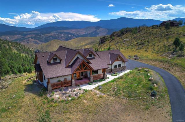 15065 Wetterhorn Peak Trail, Pine, CO 80470 (#5835301) :: Berkshire Hathaway Elevated Living Real Estate