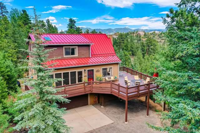 1167 Clear Creek Road, Evergreen, CO 80439 (#5836074) :: The Margolis Team