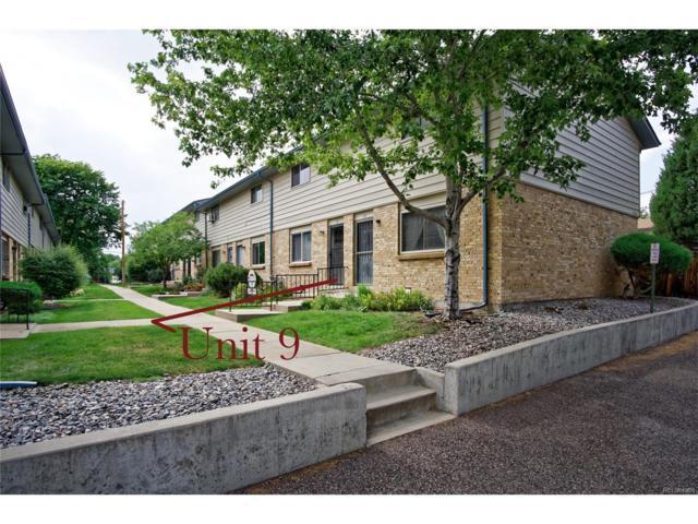 5230 Garrison Street #9, Arvada, CO 80002 (MLS #5839145) :: 8z Real Estate