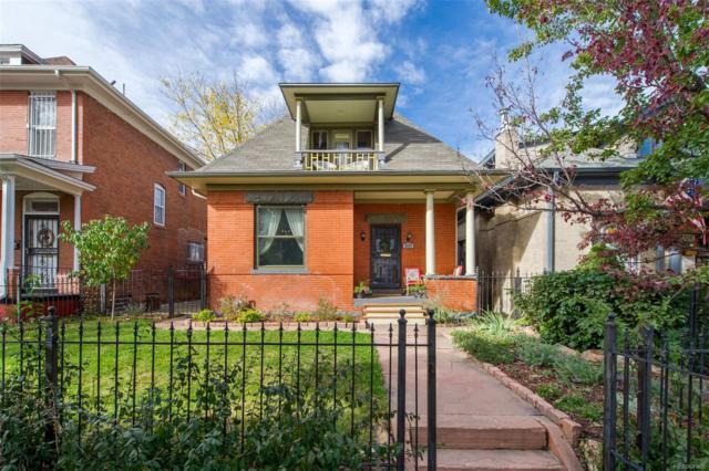 2247 N Williams Street, Denver, CO 80205 (#5840381) :: The Umphress Group