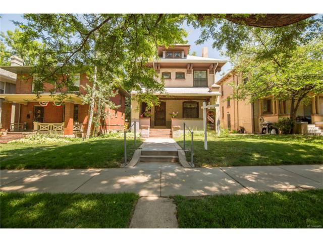 1608 Steele Street, Denver, CO 80206 (MLS #5843930) :: 8z Real Estate