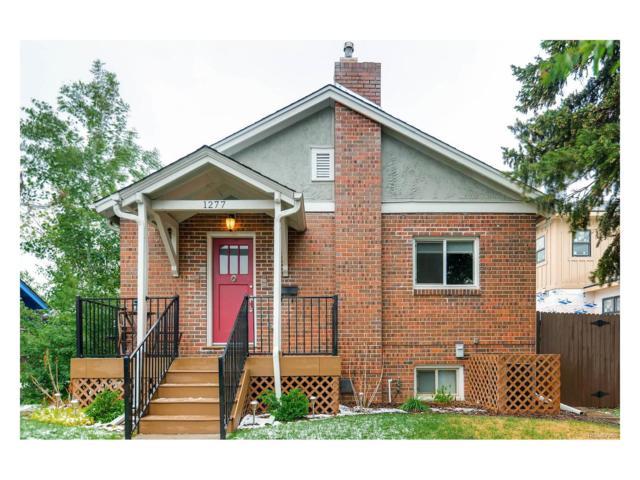 1277 S Sherman Street, Denver, CO 80210 (#5843969) :: The Peak Properties Group