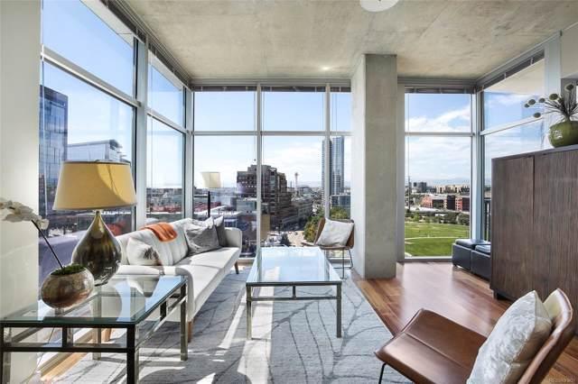1700 Bassett Street #1009, Denver, CO 80202 (MLS #5849257) :: 8z Real Estate