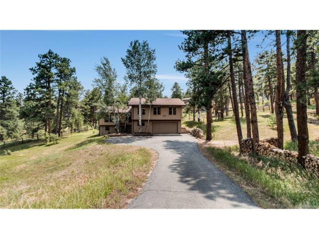 3190 Interlocken Drive, Evergreen, CO 80439 (MLS #5855344) :: 8z Real Estate