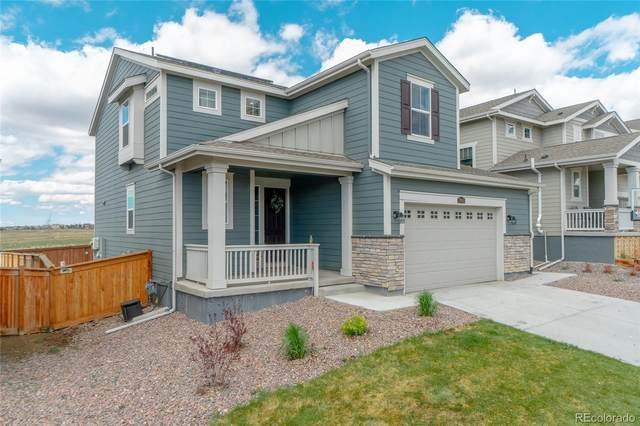 17061 E 95th Place, Commerce City, CO 80022 (MLS #5856294) :: 8z Real Estate