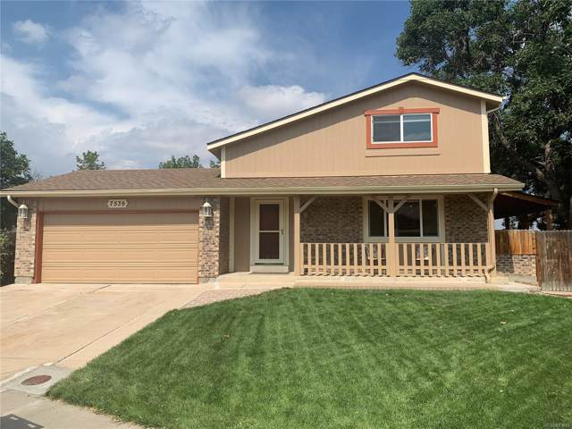 7539 Braun Way, Arvada, CO 80005 (#5859473) :: The Galo Garrido Group