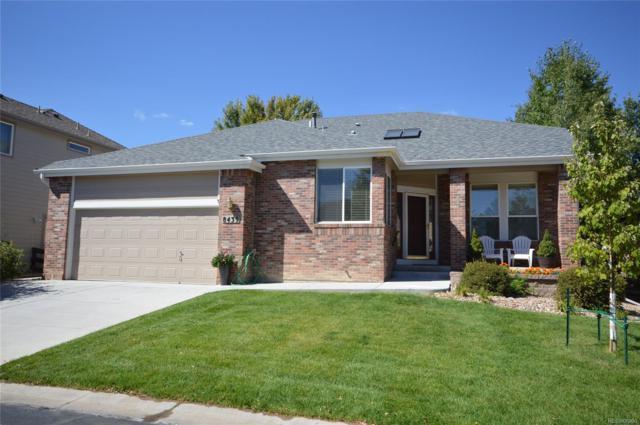 8439 S Newcombe Street, Littleton, CO 80127 (MLS #5860306) :: 8z Real Estate