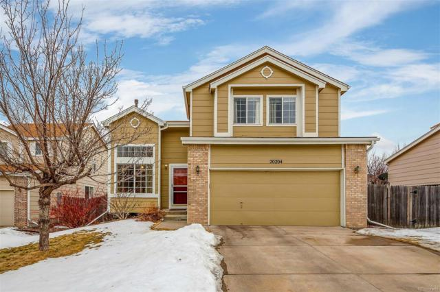 20204 E Progress Place, Centennial, CO 80015 (#5860335) :: The City and Mountains Group