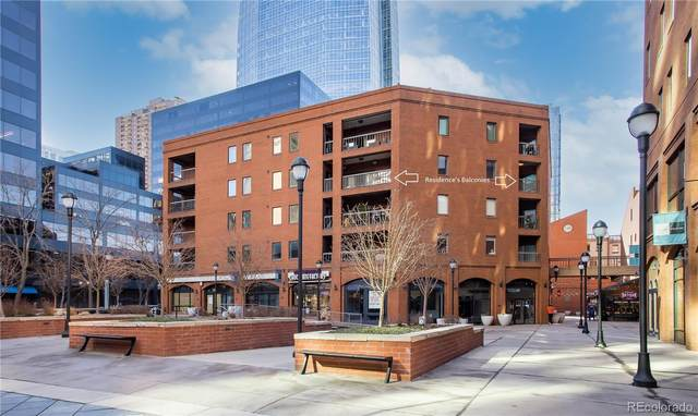 1512 Larimer Street #37, Denver, CO 80202 (#5860740) :: Compass Colorado Realty