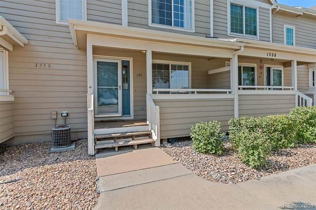 1358 S Danube Court #103, Aurora, CO 80017 (#5861723) :: Re/Max Structure