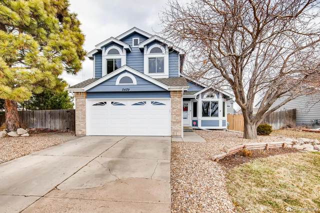 5429 E Tabor Drive, Castle Rock, CO 80104 (#5861963) :: The Harling Team @ Homesmart Realty Group
