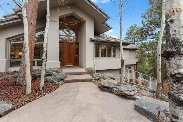 1434 Solitude Lane, Evergreen, CO 80439 (#5865891) :: The Colorado Foothills Team | Berkshire Hathaway Elevated Living Real Estate