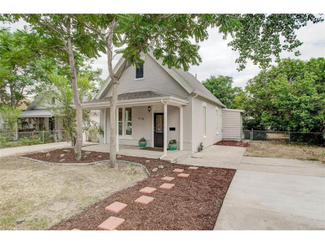 976 King Street, Denver, CO 80204 (MLS #5867247) :: 8z Real Estate