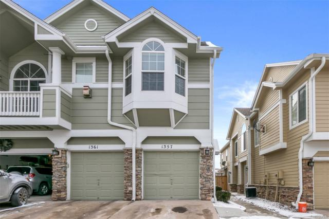 1357 Carlyle Park Circle, Highlands Ranch, CO 80129 (#5867373) :: House Hunters Colorado