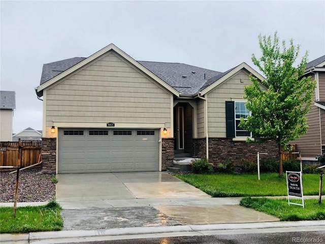 8821 Sassafras Street, Parker, CO 80134 (#5867478) :: The Colorado Foothills Team | Berkshire Hathaway Elevated Living Real Estate
