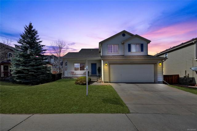 8547 Sweet Clover Way, Parker, CO 80134 (#5867729) :: The Heyl Group at Keller Williams