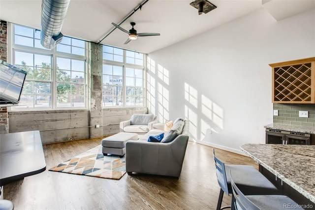 2441 N Broadway #113, Denver, CO 80205 (#5870081) :: Mile High Luxury Real Estate