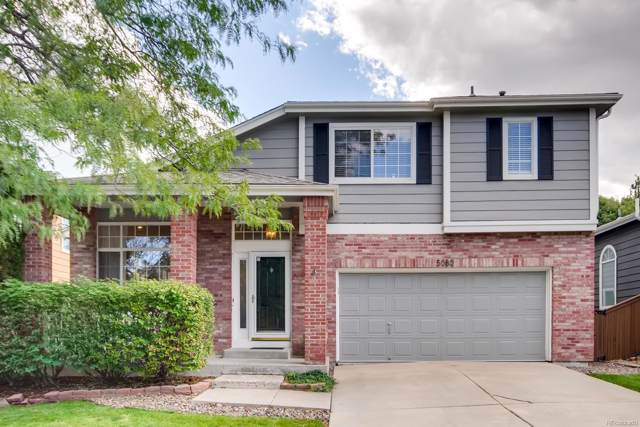 5080 Morning Glory Place, Highlands Ranch, CO 80130 (#5871707) :: Colorado Home Finder Realty