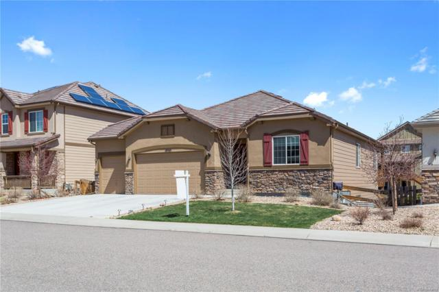 10783 Worthington Circle, Parker, CO 80134 (#5872161) :: The Peak Properties Group