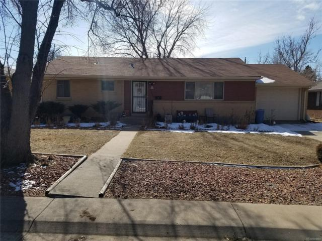 11698 E Dakota Avenue, Aurora, CO 80012 (MLS #5873489) :: 8z Real Estate