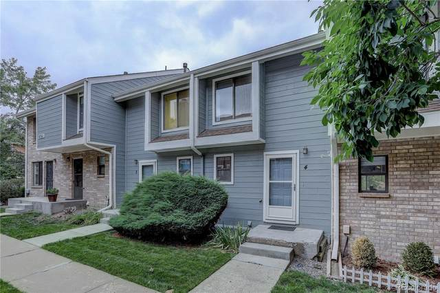 8761 W Cornell Avenue #4, Lakewood, CO 80227 (#5874602) :: Compass Colorado Realty