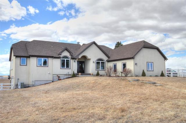 2556 Rawhide Drive, Elizabeth, CO 80107 (#5880197) :: The Pete Cook Home Group