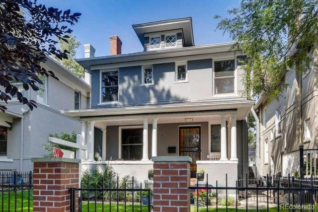 871 N Marion Street, Denver, CO 80218 (#5882444) :: House Hunters Colorado