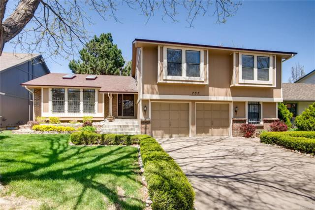 737 S Dearborn Circle, Aurora, CO 80012 (#5887307) :: The Heyl Group at Keller Williams